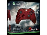 Limited Edition Gears of War, Crimson Omen Xbox One controller - Brand New, unopened