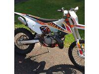 Ktm 300 exc 6days 2017 road ready not four stroke motorbike quad