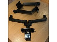 AmazonBasics Dual Side-by-Side Monitor Display Mounting Arm