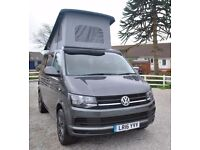 2016 Volkswagen VW Transporter 102 ps Pop top Conversion Camper Campervan
