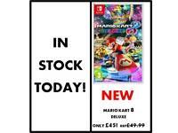 Mario Kart 8 Deluxe NEW