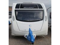 SWIFT LIFESTYLE S4 FB 2015 *FIXED BED* 4 BERTH CARAVANS