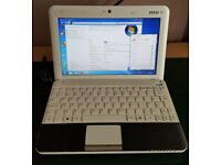 MSI U135 DX Netbook - Windows 7 - Wireless Internet