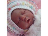 Reborn baby girl doll,