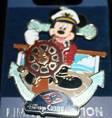 Disney DCL 2010 Jumbo Anchor Series Mickey Mouse Pin