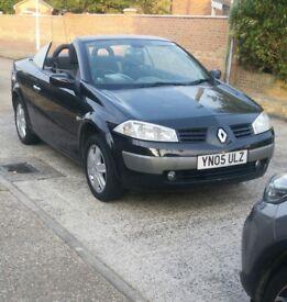 Renault megane convertible black