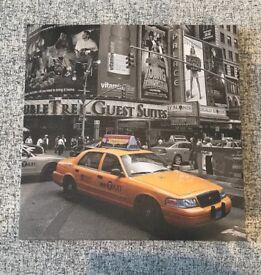 New York taxi canvas