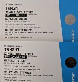 TRNSMT Festival Tickets Glasgow 2 x 01/07 (Arctic Monkeys)
