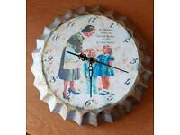 Retro Bottle Cap Click