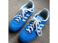 Adidas Dragon Size 4 Blue Hardly Worn Trainers Pumps