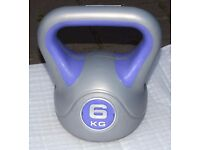 Kettle bell Weights 6 & 20 kg for Training