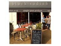 Saturday assistant wanted for 'Black Radish' organic and fine produce shop & cafe