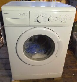 Beko WM5120W White Compact 5KG 1200 Spin Speed ,A+A Class