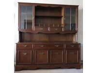 Mahogany dresser/sideboard.