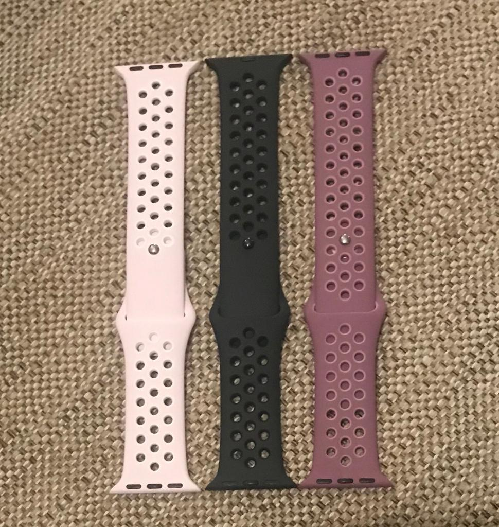 Apple Watch 38mm Straps Series 1, 2 and 3 Compatible *Brand New* Unused