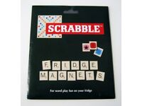 Scrabble magnetic letters for fridge, metal sign or notice board etc