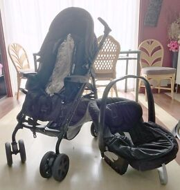 Mamas and Papas Pramette Stroller Pushchair baby boy girl