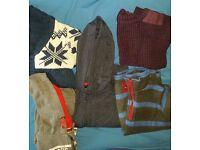 Bundle of jumpers- boy- 4-5years