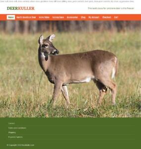 Deer Control Direct to the Freezer Without a Firearem