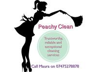 Peachy Clean, Cleaning Services Trustworthy, Professional and Reliable