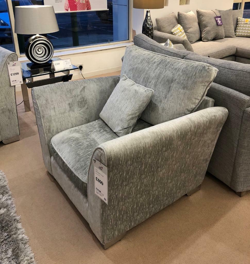 Terrific Brand New Aria Armchair From Dfs In Dorchester Dorset Gumtree Andrewgaddart Wooden Chair Designs For Living Room Andrewgaddartcom