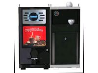 commercial beans to cup coffee machine fully automatic with fresh milk good for all places one touch