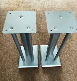 TARGET METAL SPEAKER STANDS 540mm Height 5KG each Mission Rogers
