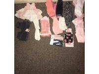Baby girls first size and up to 1 month