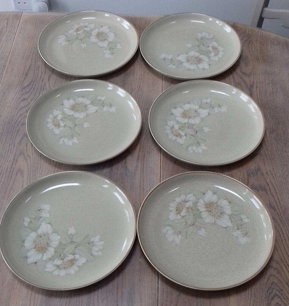 DENBY DAYBREAK DINNER PLATES 10 inch diameter-X 6. & DENBY DAYBREAK DINNER PLATES 10 inch diameter-X 6. | in Cramlington ...