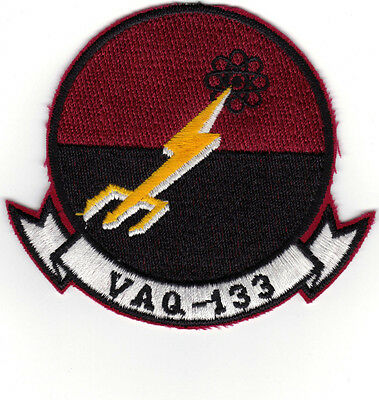 Vaq-133 (us Navy Squadron Patch) Small