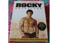 ROCKY BOX SET IN GOOD CONDITION COLLECTION WOODBOROUGH