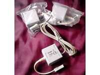 Job Lot of 3 New D-Link DSL-35MF ADSL Splitters Microfilters and 1 Lead Cable.