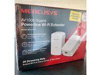 Mercusys AV 1000 Gigabit power line WiFi extender