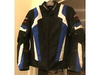 Women's textile motorcycle Jacket. Used twice (there and back)