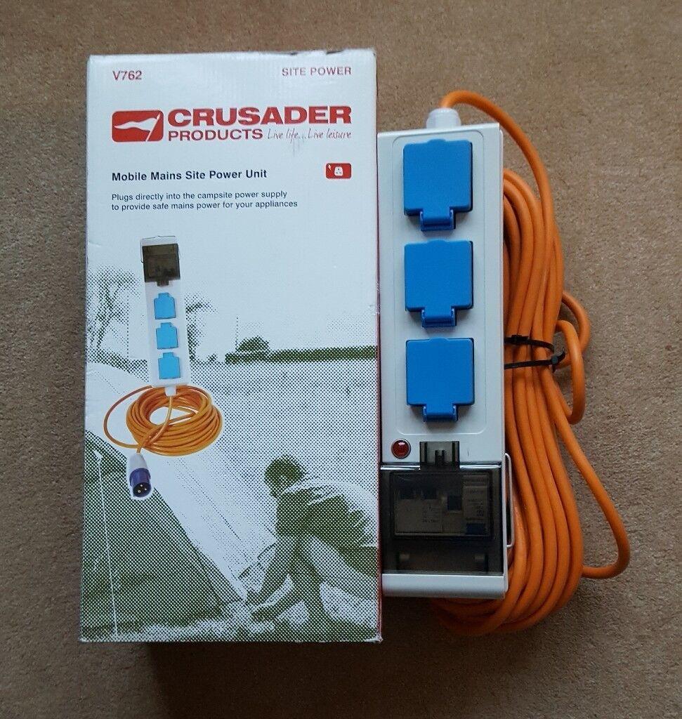 Crusader Mobile Mains Site Power Unit