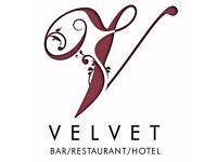 Velvet Hotel requires a Chef de Partie