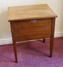 Embroidery or Sewing Box/Table