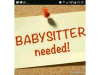 Wanting reliable babysitter
