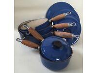 Le Creuset Cast Iron Saucepan Set