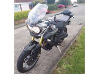 Triumph Tiger 800 immaculate condition, touring screen, heated grips, only 10500 miles