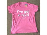 I've Got A Text Official Love Island Primark T-Shirt X Large 18-20* (fit smaller) Free P&P