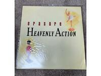 "Erasure - Heavenly Action 12"" Single Vinyl record"