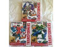 Transformers Construct Bots Dinobot Warriors
