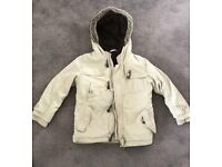 Kids NEXT coat 4-5 ex cond lovely and warm