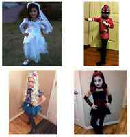 GIRL COSTUMES SIZES XS-M