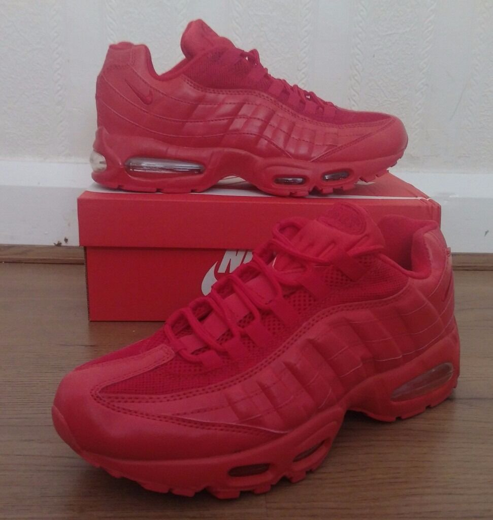 lqwig Nike air max 95 110 trainers red white blue black grey green