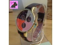 Radley RY2428 Ladies 'Abbey' Clove Leather Chronograph Watch – NEW RRP: £150