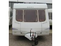 SWIFT CHARISMA 570 2004 *FIXED BUNK BEDS* 6 BERTH CARAVAN