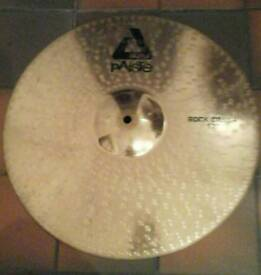 "Alpha paiste Rock Crash 17"" cymbal"