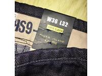 River Island jeans with tags